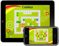 Cubilus puzzle game for iPad, iPhone, iPod Touch