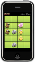 Memory Game for iPad, iPhone, iPod Touch