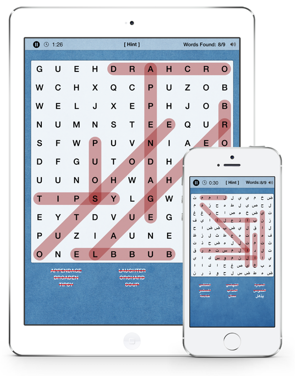 Word Search for iPhone, iPad